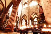 HDRI photo of the Freiburg Muenster — Stock Photo