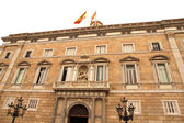Palau de Generalitat in Barcelona — Stock Photo