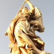 Statue in Rome - Stock Photo