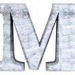 Letter M — Stock Photo #15622263