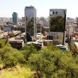View over Santiago de Chile - Stock Photo