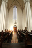 Interior of the Marienkirche in Berlin, Germany — Stock Photo