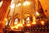 内部的弗赖堡 muenster — 图库照片