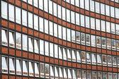 Facade in the Speicherstadt in Hamburg — Stock Photo