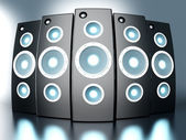 Power Speakers — Stock Photo