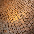 Ancient cobblestone Pavement — Stock Photo #19550241