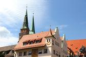 Historic Buildings in Nuremberg — Stock fotografie
