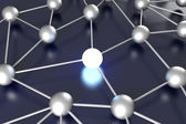 Activated Network Node — Stock Photo