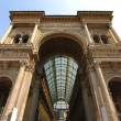 Galleria Vittorio Emanuele in Milano - Stock Photo