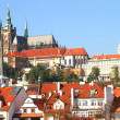 View over Prague - Stockfoto
