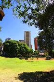 Plaza Barrancas de Belgrano in Buenos Aires — Stock fotografie