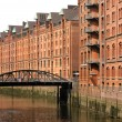 Stock Photo: Speicherstadt in Hamburg