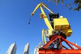 Crane in Puerto Madero — Stock Photo