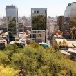 Stock Photo: View over Santiago de Chile
