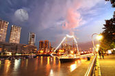 Puerto Madero in Buenos Aires — Stock Photo