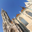 The Matthias Church in the Fisher Bastion - Stock Photo