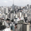 Stock Photo: Skyline of Sao Paulo
