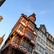 Old town in Frankfurt am Main - Stock Photo