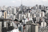 Skyline of Sao Paulo — Foto Stock
