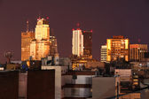 Buenos Aires at night — Stock Photo