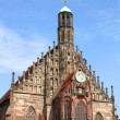 The Frauenkirche in Nuremberg - Stock Photo
