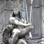 Statue in Rio de Janeiro — Stock Photo