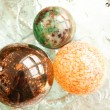 Decorative Christmas Spheres - Stock Photo