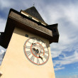 The Clock tower in Graz — Stock Photo