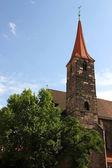 Igreja de st. jakob em nuremberg — Foto Stock