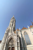 The Matthias Church in the Fisher Bastion in Budapest, Hungary, — Stock Photo