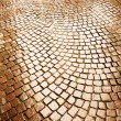 Cobblestone pavement in Verona — Stock Photo #27040233