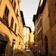 Street Scene in Florence — Stock Photo