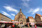Historic Buildings in Nuremberg — Stock Photo