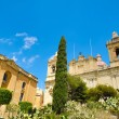 Saint Lawrence church in Birgu — Stock Photo #27362487