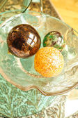 Decorative Christmas Spheres — Стоковое фото