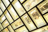 Glass brick wall — Stock Photo