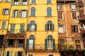 Historic architecture in Verona — Stock Photo