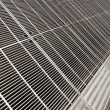 Metal Grid Floor — Stock Photo