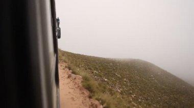 Mountain road to Iruya — Stock Video