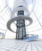 Futuristic Architecture — Stock Photo