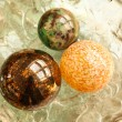 Decorative Christmas Spheres — Stock Photo