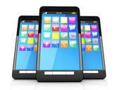 Smartphones — Stock Photo