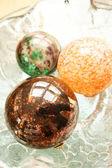 Decorative Christmas Spheres — Photo