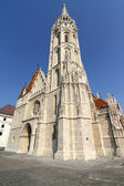 The Matthias Church in the Fisher Bastion — Stock Photo