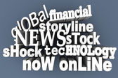 In the News — Stock Photo
