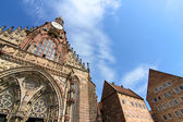 The Frauenkirche in Nuremberg — Stock Photo