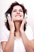 Enjoying Music — Stockfoto