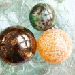 Decorative Christmas Spheres — 图库照片