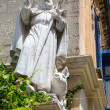 Christian Statue in Rabat — Foto Stock