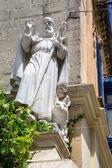 Christian Statue in Rabat — Photo